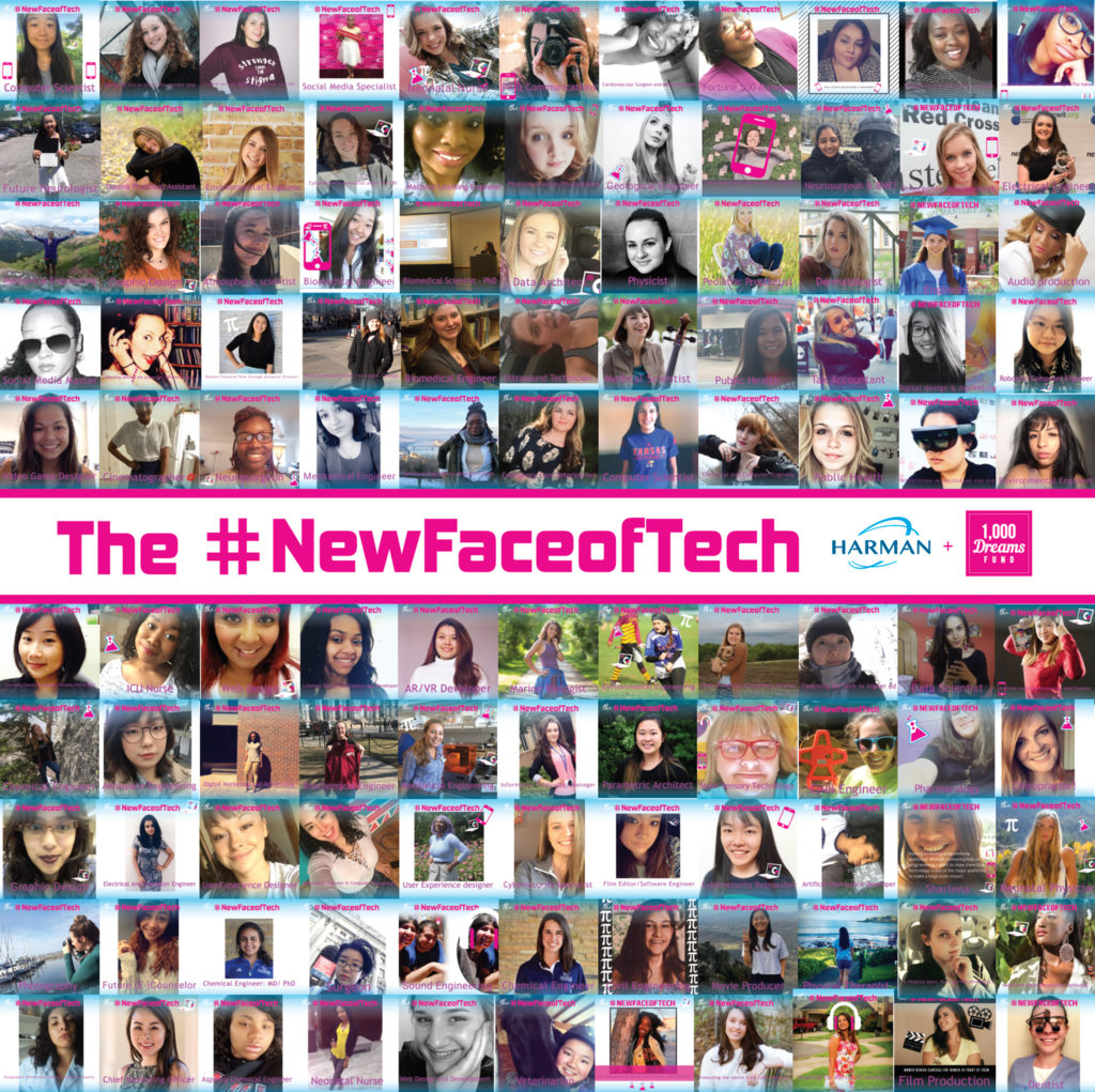 Congratulations to everyone who entered the #NewFaceofTech!