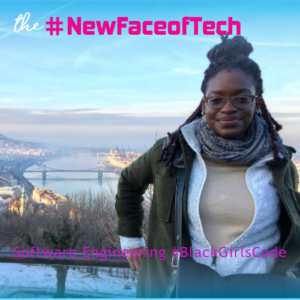 Chinasa, one of the winners of our #NewFaceofTech Challenge!