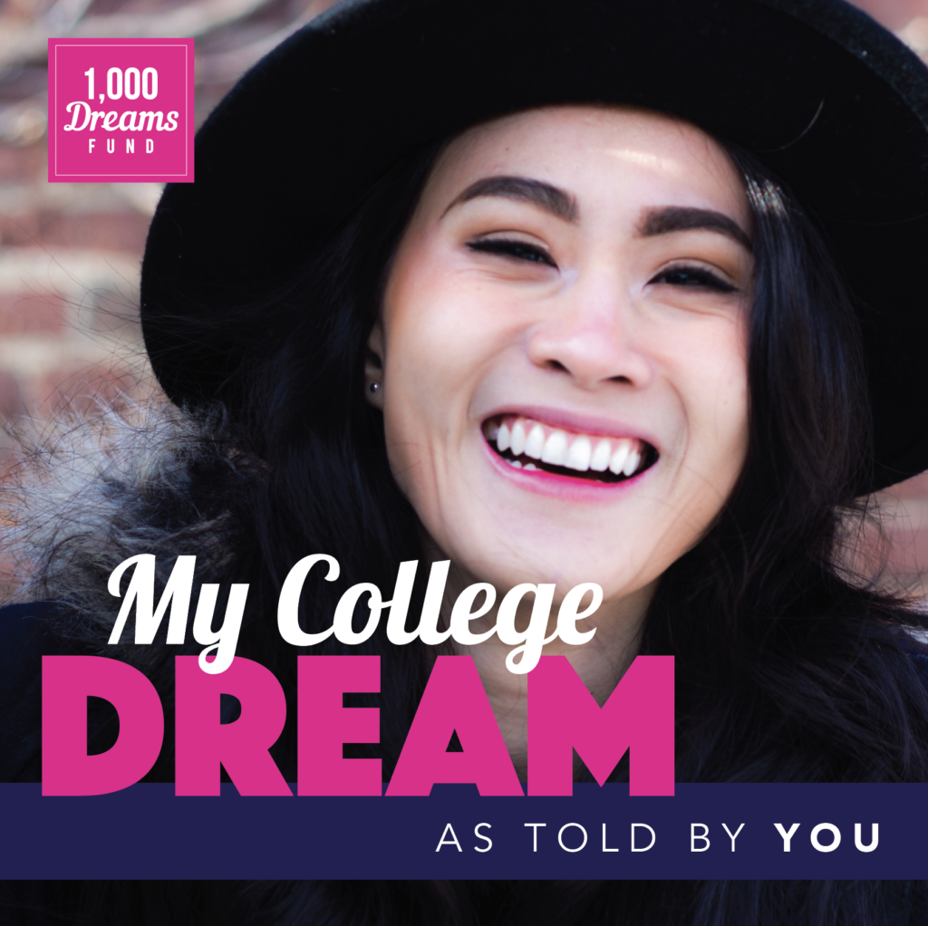 Enter the #MyCollegeDream Challenge!